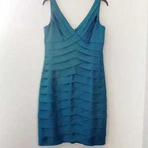 Pretty Teal Formal Dress, Size 10